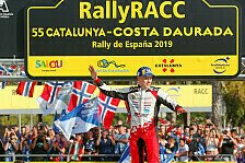 WRC - Rallye Spanien: Neuville siegt, Tänak ist Weltmeister