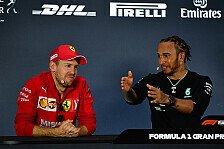 Formel 1 - Sebastian Vettel: Mercedes' Sieg war Glück