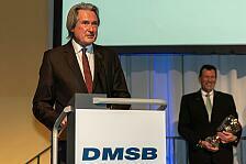 Herausragende Verdienste: Hermann Tomczyk erhält DMSB-Pokal