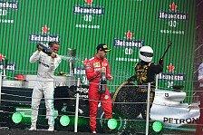 Mexiko-Podium irritiert Vettel: Scheiß-Pokal, Selfie-Typ
