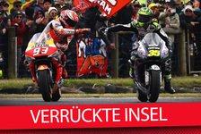 MotoGP - Video: MotoGP Phillip Island: Marquez biegt Vinales, Lorenzo desaströs