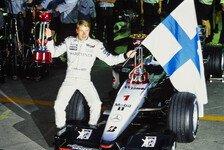 Formel 1 vor 20 Jahren: Mika Häkkinens zweiter WM-Streich