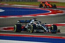 Formel 1 2019: USA GP - Freitag