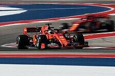 Formel 1 USA, Vettel: Ferrari hat im Training den Zug verpasst