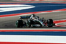 Formel 1 USA, 2. Training: Hamilton vor Ferrari & Red Bull
