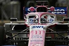 Formel 1 USA, Perez mit heftiger Strafe: Start aus Boxengasse