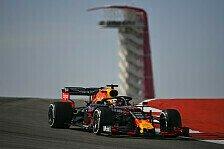 Formel 1 USA: Verstappen gewinnt Qualifying-Generalprobe