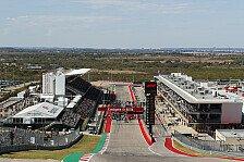 Formel 1, Wetter Austin: Hitzeschlacht beim USA-GP