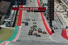 Formel 1 USA 2019: Austin-Fahrernoten - hier bewerten!