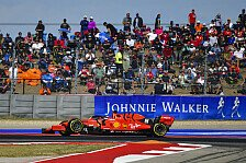 Formel 1 USA: Sebastian Vettel nach Ferrari-Defekt früh raus