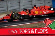 Formel 1 - Video: Team für Team: Die Tops & Flops vom US GP 2019