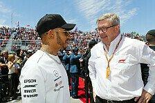 Formel 1: Brawn zweifelte an Hamiltons Professionalität