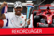 Formel 1 - Video: Formel-1-Rekorde: Kann Hamilton Schumis Bestmarken knacken?
