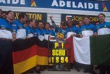 Formel 1, Schumi-Mania 1994: Die Top-5-Momente des Jahres