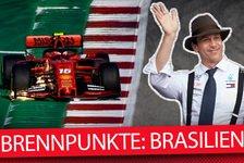 Formel 1 - Video: Formel 1 2019: 5 Brennpunkte vor dem Brasilien GP