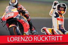 MotoGP - Video: MotoGP - Jorge Lorenzo hört auf: Sein Honda-Debakel analysiert