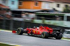 Formel 1 Brasilien 2. Training: Vettel mit Bestzeit vor Leclerc