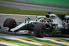 Formel 1 Brasilien: Hamilton gewinnt Qualifying-Generalprobe