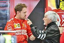 Sebastian Vettel wieder der Alte? Ecclestone glaubt an Comeback