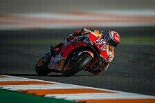 MotoGP Valencia 2019: Marquez im Warm-Up mit Sturz und Bestzeit
