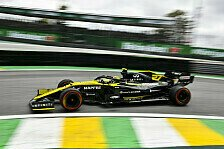 Formel 1, Brasilien GP: Hülkenberg glücklos im Mittelfeld