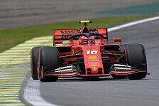 Formel 1 Brasilien, Leclerc enttäuscht sich selbst: P1 war drin