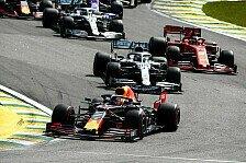 Formel 1 Brasilien: Verstappen gewinnt Chaos-GP, Ferrari crasht
