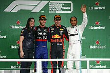 Formel 1 2019: Brasilien GP - Podium