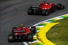 Formel 1 Brasilien - Presse: Ferrari destabilisiert, erbärmlich