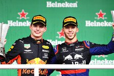 Formel-1-Statistik: Kurioses Brasilien-Podium bricht F1-Rekord