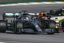 Formel 1: Verstappen und Hamilton im Duell der Giganten