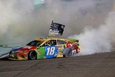 NASCAR Homestead: Kyle Busch siegt und ist neuer Champion 2019