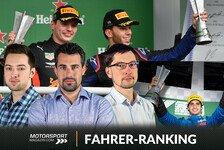 Formel-1-Fahrerranking Brasilien: Unfassbarer Noten-Krimi um P1