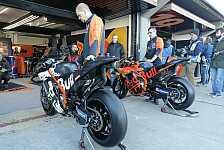 MotoGP: KTM mit Rahmen-Revolution im Valencia-Test