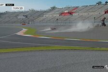 MotoGP-Test Valencia: Marquez-Brüder crashen, Quartararo voran