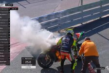 MotoGP-Test Valencia: Vinales holt Bestzeit, Iannone brennt ab