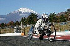 BMW-Ikone Alex Zanardi in Fuji: Aus dem DTM-Autos aufs Handbike
