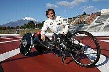 BMW-Ikone Alex Zanardi in Fuji: Vom DTM-Auto aufs Handbike