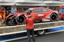 DTM in Fuji: Loic Duval crasht Audi vor dem Rennstart!
