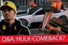 Formel 1 - Video: Formel 1 Q&A: Gelingt Nico Hülkenberg ein F1-Comeback?