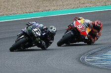 MotoGP-Test Jerez: Regen sorgt für wenig Betrieb am Dienstag