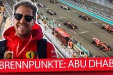 Formel 1 - Video: Formel 1 2019: 5 Brennpunkte vor dem Abu Dhabi GP