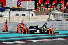 Formel 1, Renault-Debakel im Training: Last-Minute-Klatsche?