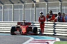 Formel 1 Abu Dhabi 1. Training: Mercedes vorne, Vettel crasht