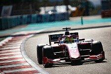 Mick Schumacher eröffnet letzten Formel-2-Test mit Bestzeit