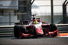Formel-2-Test: Schaden legt Schumacher lahm, Deletraz vorne