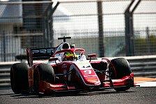Formel 2, Testfahrten: Schumacher beendet 2. Tag auf Platz vier