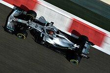 Formel 1 Abu Dhabi: Bottas legt vor, Hamilton experimentiert