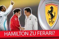 Formel 1 - Video: Formel 1 2020: Verhandelt Lewis Hamilton mit Ferrari?