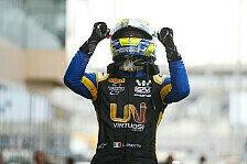 Formel 2, Abu Dhabi: Ghiotto siegt beim Saisonabschluss